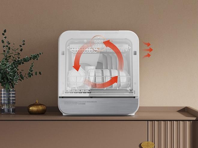 Xiaomi ra mắt máy rửa bát thông minh: Khử trùng UV, làm khô bằng không khí nóng, giá 3.5 triệu đồng - Ảnh 5.