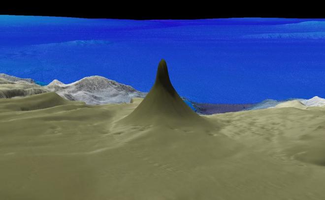 Phát hiện rặng san hô cao 500 mét ngoài khơi nước Úc, chiều cao gấp gần 2 lần tòa nhà Bitexco - Ảnh 1.