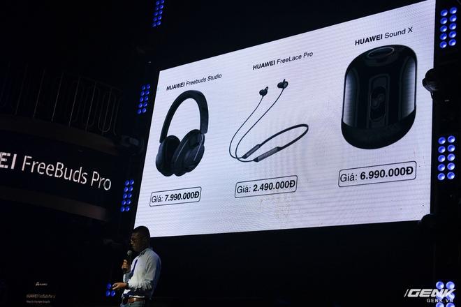 Cận cảnh tai nghe không dây Huawei FreeBuds Pro tại Việt Nam: Màu sắc đẹp mắt, chống ồn 40dB, driver 11mm, công nghệ mới giúp kết nối ổn định hơn - Ảnh 14.