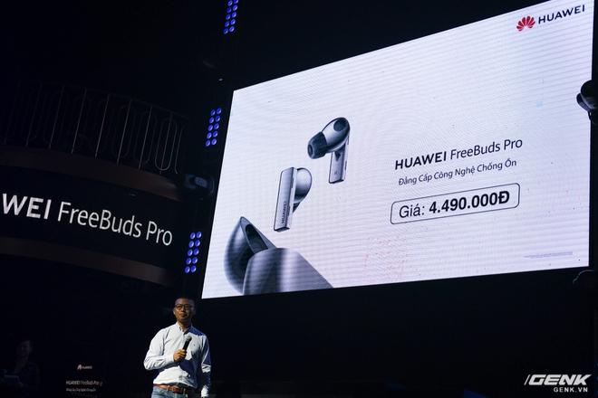 Cận cảnh tai nghe không dây Huawei FreeBuds Pro tại Việt Nam: Màu sắc đẹp mắt, chống ồn 40dB, driver 11mm, công nghệ mới giúp kết nối ổn định hơn - Ảnh 6.