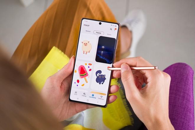 Samsung đang phát triển phiên bản giá rẻ Galaxy Note20 FE - Ảnh 1.