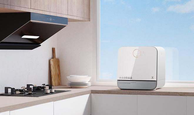 Xiaomi ra mắt máy rửa bát thông minh: Khử trùng UV, làm khô bằng không khí nóng, giá 3.5 triệu đồng - Ảnh 1.