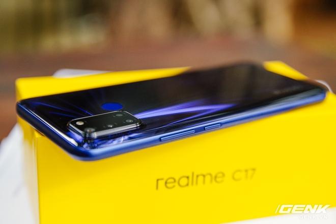 Trên tay Realme C17 tại Việt Nam: Vẫn chạy Snapdragon 460, bù lại tăng thêm 2GB RAM và đã trang bị màn hình 90Hz - Ảnh 4.