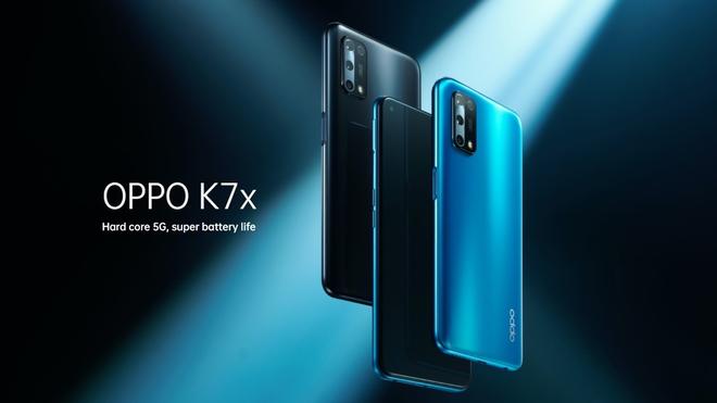OPPO K7x ra mắt: Màn hình 90Hz, Dimensity 720, 4 camera sau, pin 5000mAh, giá 5.2 triệu đồng - Ảnh 1.