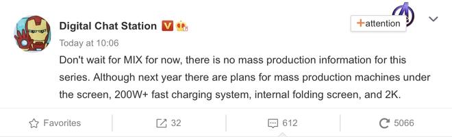 Xiaomi đang phát triển smartphone với sạc nhanh 200W+, sẽ ra mắt vào năm 2021 - Ảnh 2.
