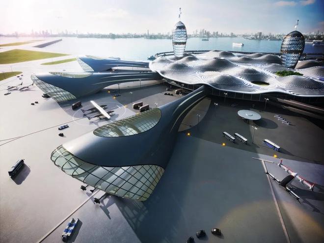 Sân bay vũ trụ sẽ trông ra sao nếu các chuyến bay thương mại lên không gian trở thành hiện thực - Ảnh 3.