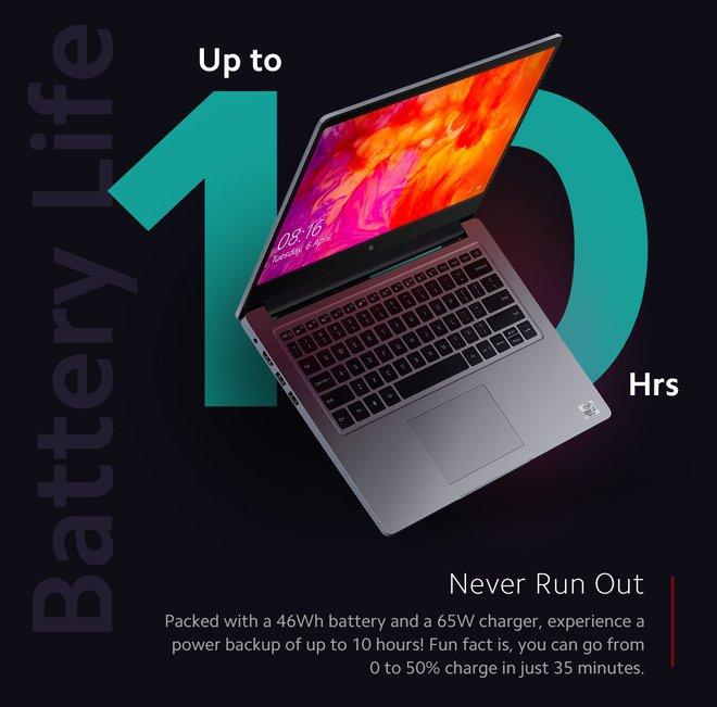 Xiaomi ra mắt laptop dành cho học online: Core i3-10110U, RAM 8GB, pin 10 tiếng, giá 11.6 triệu đồng - Ảnh 2.