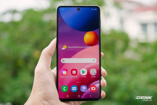 Trên tay Galaxy M51: Smartphone có pin trâu nhất phân khúc, giá 9.49 triệu đồng - Ảnh 7.