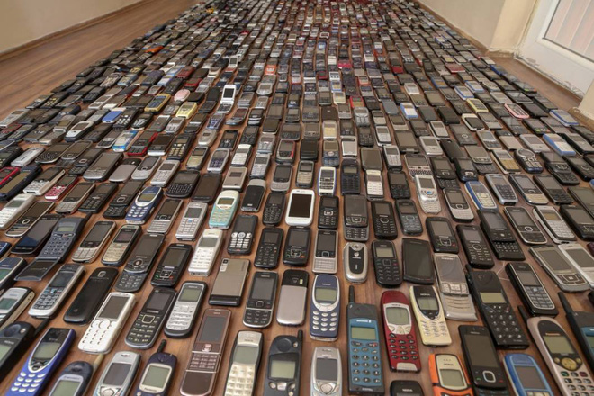 Choáng ngợp với bộ sưu tập điện thoại di động trong 20 năm của người đàn ông Thổ Nhĩ Kỳ - Ảnh 4.