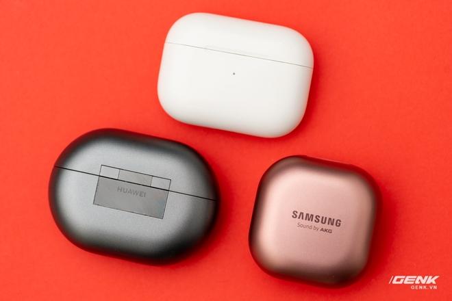 So sánh Huawei FreeBuds Pro, Apple AirPods Pro và Samsung Galaxy Buds Live: Mỗi người một vẻ - Ảnh 1.
