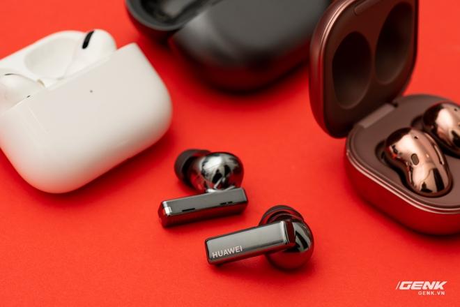 So sánh Huawei FreeBuds Pro, Apple AirPods Pro và Samsung Galaxy Buds Live: Mỗi người một vẻ - Ảnh 21.