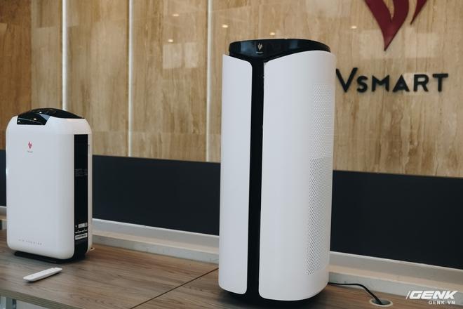 Đây là máy lọc không khí Vsmart, bán ra trong tháng 12 - Ảnh 1.