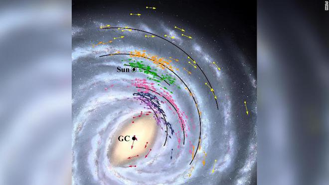 Hóa ra Trái Đất nằm gần siêu lỗ đen khổng lồ ở trung tâm dải Ngân hà hơn chúng ta tưởng - Ảnh 1.
