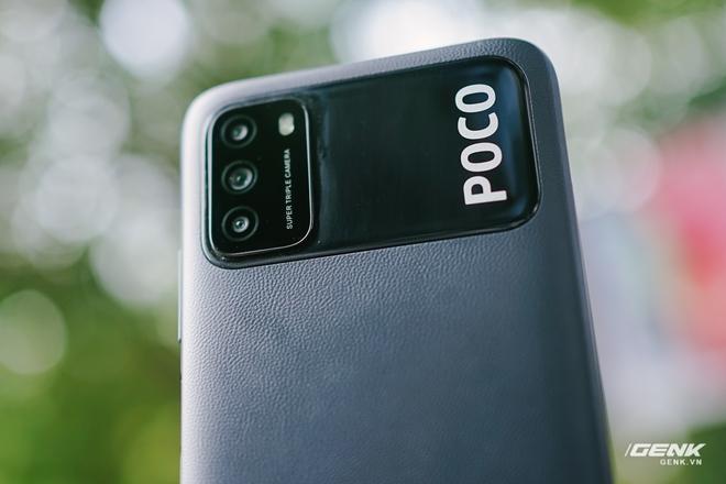 Trên tay POCO M3: Chỉ hơn 3 triệu đồng đã có mặt lưng giả da, loa kép, camera 48MP, pin khủng 6000mAh - Ảnh 5.