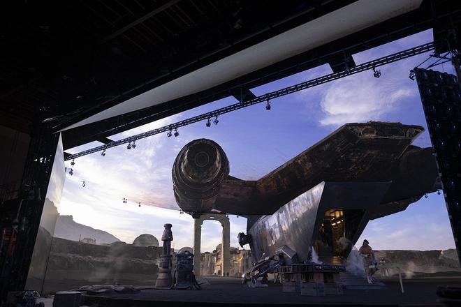 Không chỉ là một series phim khoa học viễn tưởng, Mandalorian còn mang tới một cuộc cách mạng về công nghệ dựng phim - Ảnh 5.