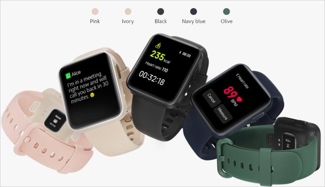 Xiaomi ra mắt Mi Watch Lite quốc tế: Pin 9 ngày, đo nhịp tim, chống nước 5ATM, giá khoảng 50 USD - Ảnh 3.