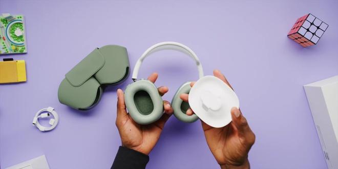Cận cảnh AirPods Max: Mẫu headphone giá 549 USD của Apple có gì hot? - Ảnh 7.