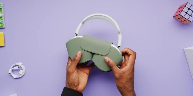 Cận cảnh AirPods Max: Mẫu headphone giá 549 USD của Apple có gì hot? - Ảnh 9.