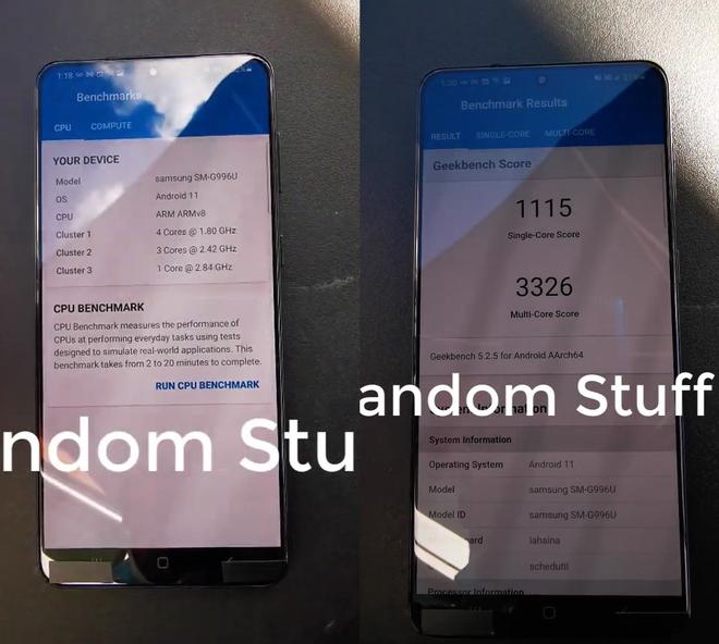 Galaxy S21+ lộ video trên tay: Mặt lưng nhựa, viền mỏng hơn, 3 camera sau, to bằng iPhone 12 Pro Max - Ảnh 2.