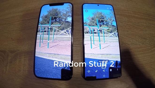 Galaxy S21+ lộ video trên tay: Mặt lưng nhựa, viền mỏng hơn, 3 camera sau, to bằng iPhone 12 Pro Max - Ảnh 5.