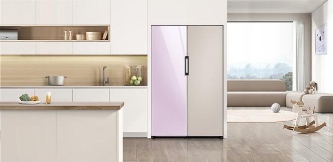 Samsung biến chiếc tủ lạnh nhàm chán thành tác phẩm nghệ thuật ra sao - Ảnh 1.