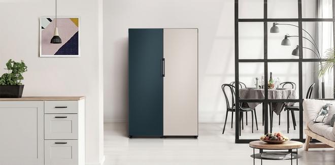 Samsung biến chiếc tủ lạnh nhàm chán thành tác phẩm nghệ thuật ra sao - Ảnh 2.