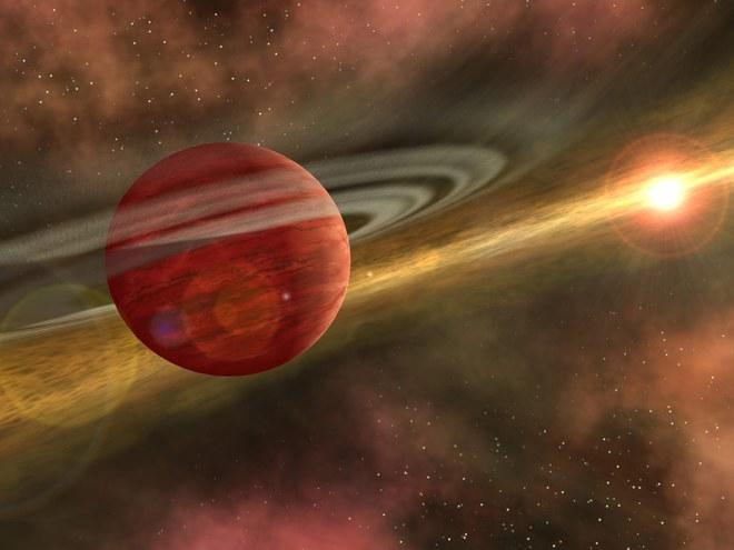 HD 106906B nằm rất xa 2 ngôi sao chủ của nó
