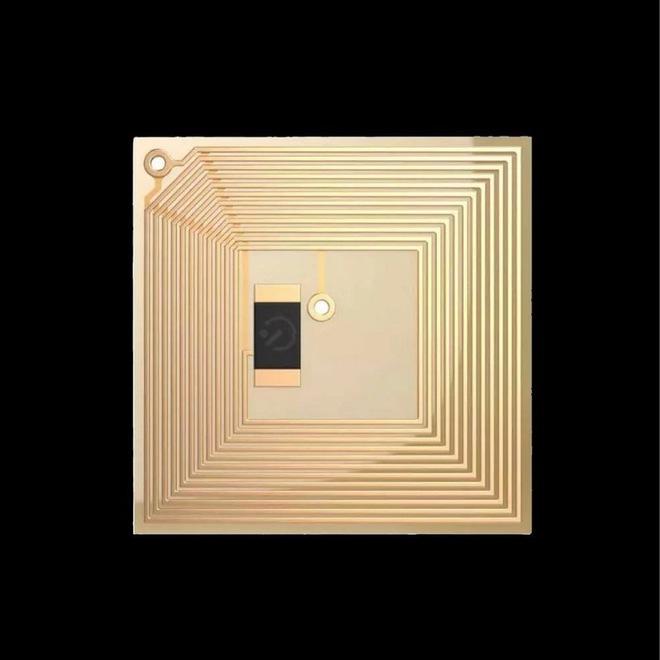 Tiệm làm móng ở Dubai giới thiệu vi chip gắn trên móng tay có chức năng lưu trữ dữ liệu - Ảnh 2.