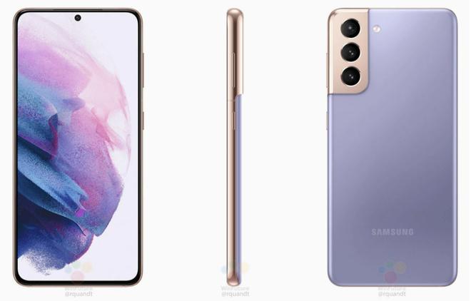 Lộ ảnh render chính thức của Galaxy S21, S21+ và S21 Ultra - Ảnh 2.