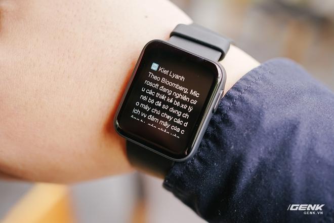 Trên tay Redmi Watch giá 1.1 triệu đồng: Apple Watch giá rẻ của thế giới Android! - Ảnh 12.