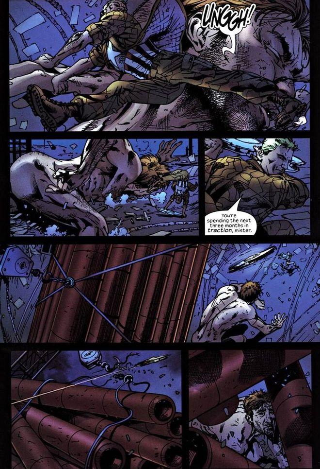 Cuộc chiến ác liệt này đã khiến hình tượng Captain America vấy phải bùn lầy tuesday - Ảnh 1.
