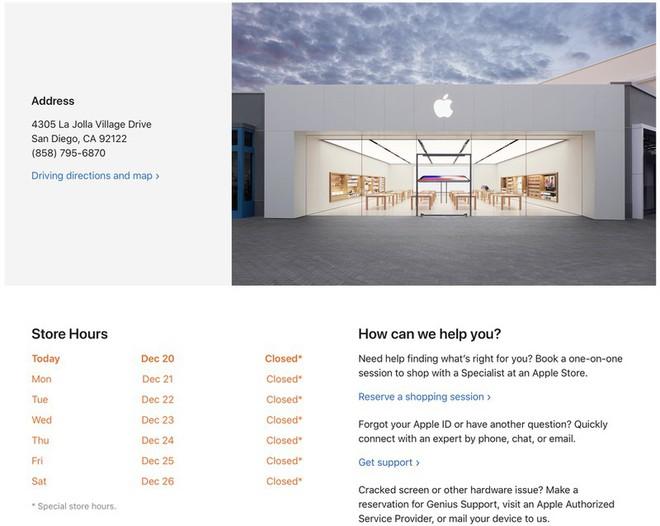 Số ca mắc Covid-19 tăng cao, gần 100 cửa hàng Apple Store đóng cửa trở lại - Ảnh 1.