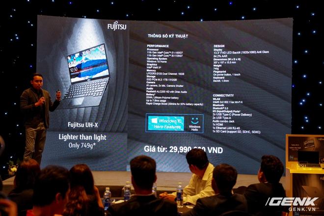 Fujitsu ra mắt laptop nhẹ nhất Việt Nam, sử dụng chip Intel thế hệ 11 Tiger Lake, giá từ 30 triệu đồng - Ảnh 15.