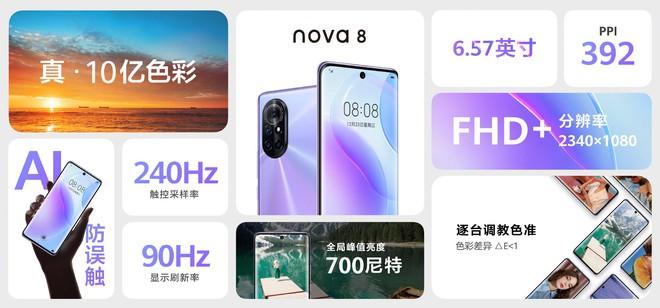 Huawei Nova 8 và Nova 8 Pro ra mắt: Kirin 985 5G, màn hình 120Hz 10-bit màu, camera 64MP, sạc nhanh 66W, giá từ 11.6 triệu đồng - Ảnh 10.