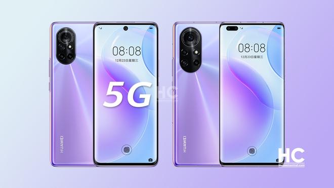 Huawei Nova 8 và Nova 8 Pro ra mắt: Kirin 985 5G, màn hình 120Hz 10-bit màu, camera 64MP, sạc nhanh 66W, giá từ 11.6 triệu đồng - Ảnh 1.