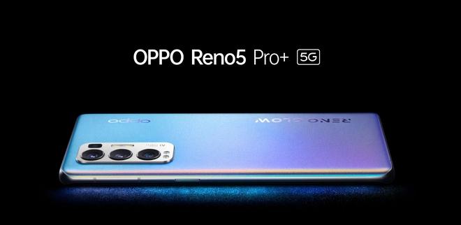 OPPO Reno5 Pro+ ra mắt: Camera dùng cảm biến Sony IMX766 xịn hơn, chip Snapdragon 865, sạc siêu nhanh 65W, giá từ 14.2 triệu đồng - Ảnh 1.
