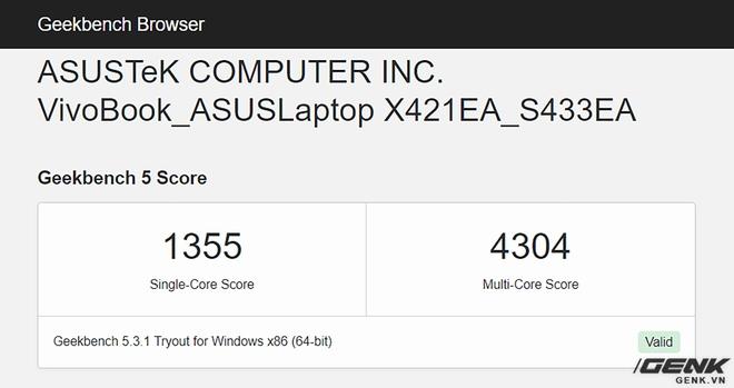 Đánh giá hiệu năng gaming Intel Iris Xe trên Asus VivoBook S14 S433: Ultrabook nay đã có thể chơi game - Ảnh 6.