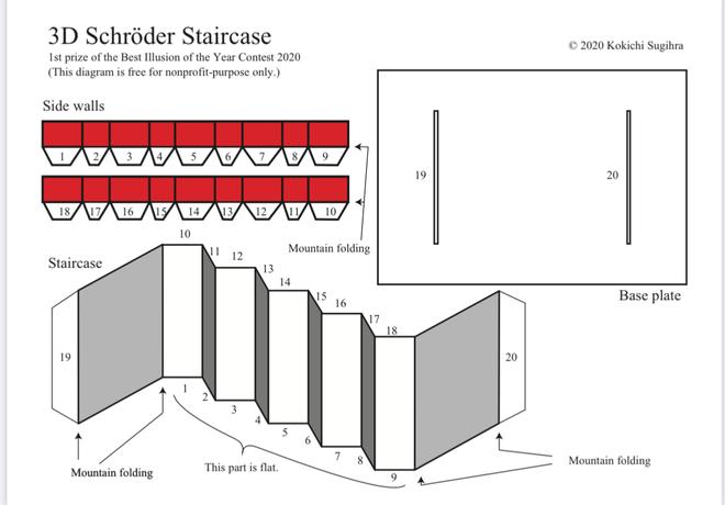Chiếc cầu thang này là ảo giác ấn tượng nhất năm 2020 do thế giới bình chọn - Ảnh 4.