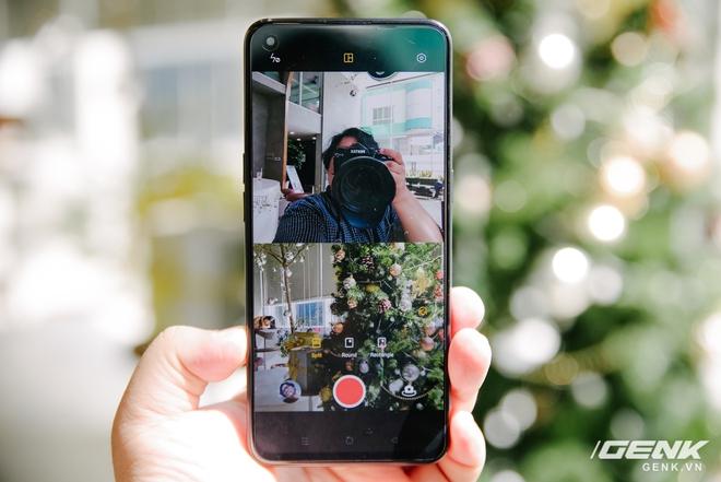Trên tay OPPO Reno5 vừa ra mắt: Mỏng nhẹ, mặt lưng đa sắc, camera nâng cấp mạnh, sạc siêu nhanh 50W, chạy Android 11 - Ảnh 12.