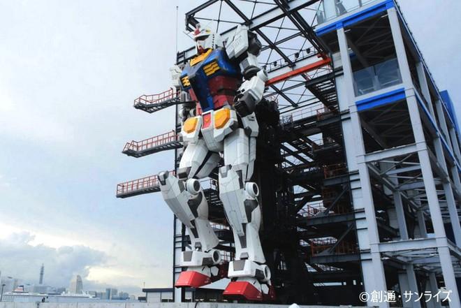 Nhật Bản chuẩn bị mở cửa cho du khách khám phá mẫu robot Mobile Suit Gundam sở hữu kích thước thật và có thể di chuyển - Ảnh 4.