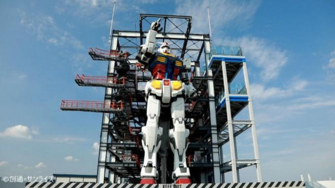 Nhật Bản chuẩn bị mở cửa cho du khách khám phá mẫu robot Mobile Suit Gundam sở hữu kích thước thật và có thể di chuyển - Ảnh 1.