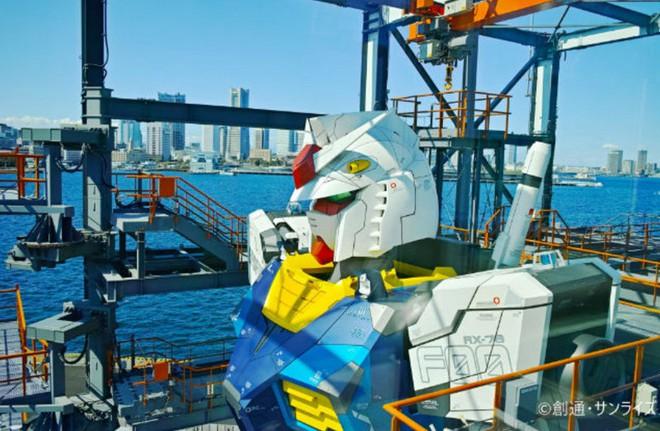 Nhật Bản chuẩn bị mở cửa cho du khách khám phá mẫu robot Mobile Suit Gundam sở hữu kích thước thật và có thể di chuyển - Ảnh 3.