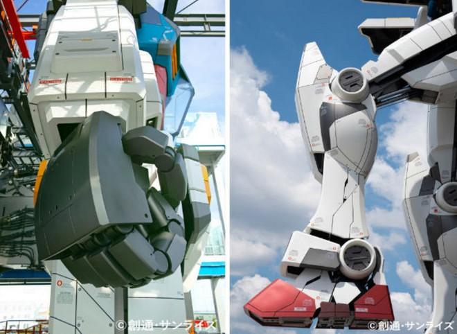 Nhật Bản chuẩn bị mở cửa cho du khách khám phá mẫu robot Mobile Suit Gundam sở hữu kích thước thật và có thể di chuyển - Ảnh 5.