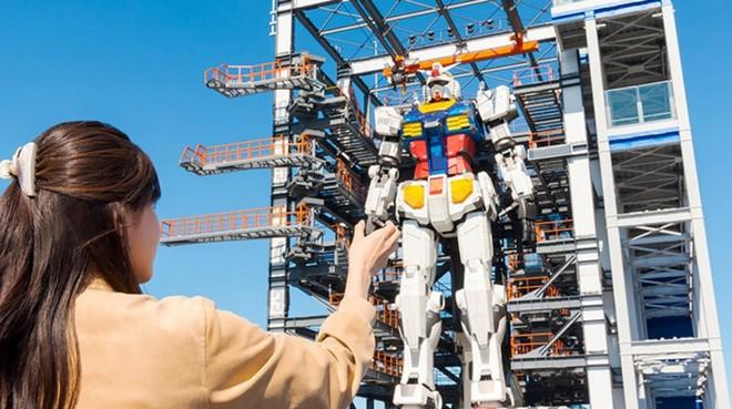 Nhật Bản chuẩn bị mở cửa cho du khách khám phá mẫu robot Mobile Suit Gundam sở hữu kích thước thật và có thể di chuyển - Ảnh 6.