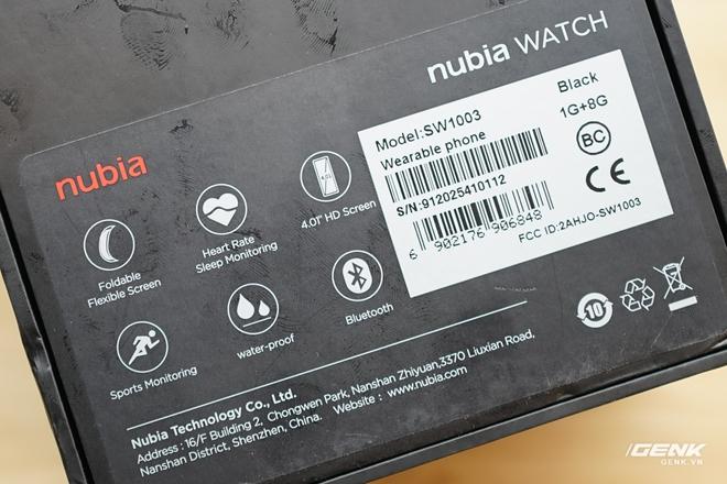Trên tay Nubia Watch: Smartwatch màn hình uốn dẻo siêu dị không dành cho người bình thường - Ảnh 2.