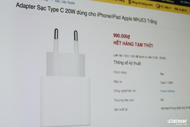 Đánh giá củ sạc Apple 20W đang cháy hàng tại Việt Nam: Giá cao nhưng chẳng có gì đặc biệt - Ảnh 3.