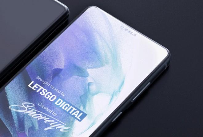Lộ bằng sáng chế của Samsung cho thấy công nghệ màn hình bên dưới màn hình giúp ẩn camera selfie - Ảnh 1.