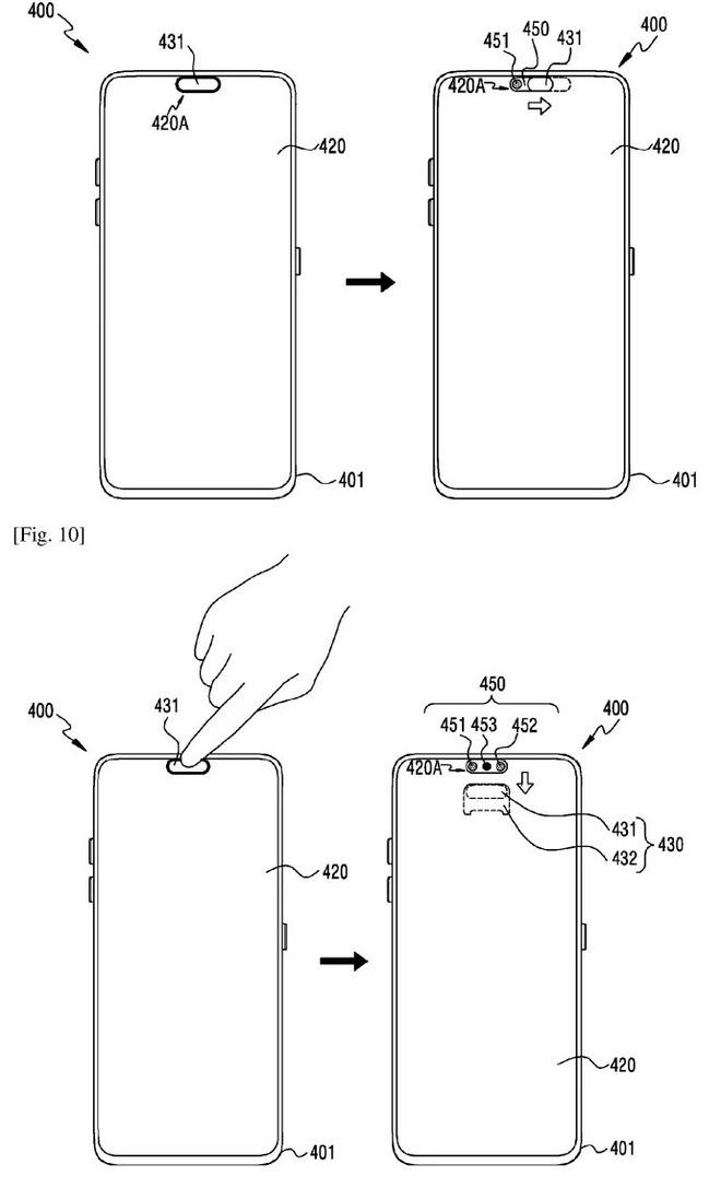 Lộ bằng sáng chế của Samsung cho thấy công nghệ màn hình bên dưới màn hình giúp ẩn camera selfie - Ảnh 3.