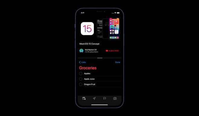 Concept iOS 15 khiến fan thèm nhỏ dãi khi mang Split View và nhiều thứ hay ho lên iPhone - Ảnh 1.