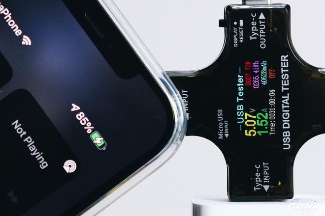 Trên tay củ sạc Xiaomi 20W dành cho iPhone: Giá 130.000 đồng, sạc nhanh như củ sạc Apple - Ảnh 9.